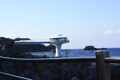 ホテルシーモアの海中展望塔